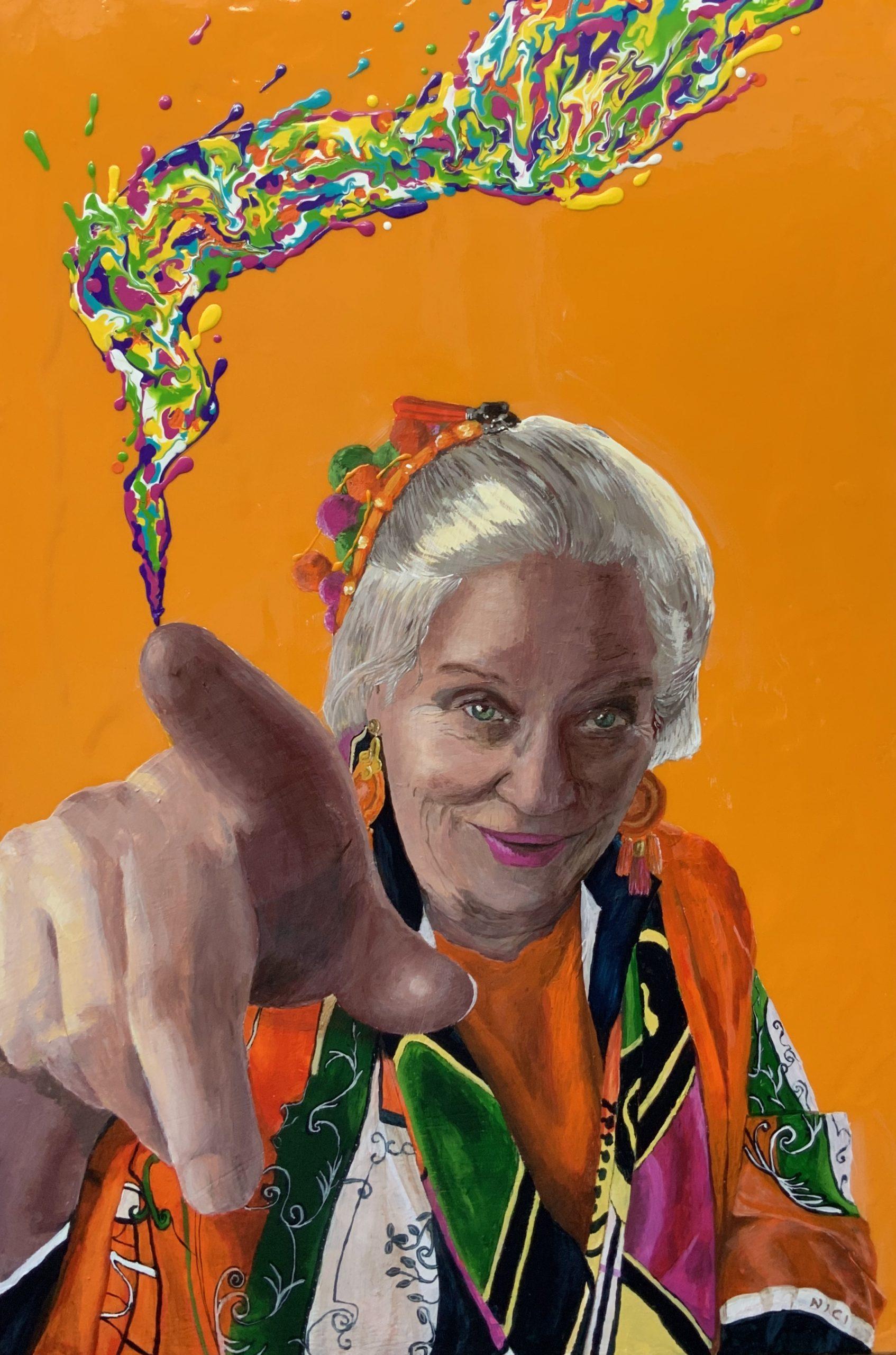 Lainey Loneragan Acrylic Painting