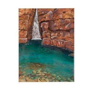 Kimberley Rockpool Acrylic Painting